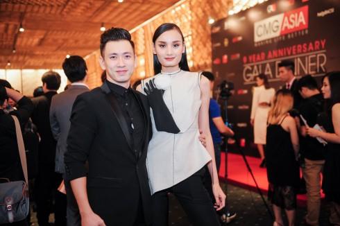 Đại tiệc kỷ niệm 9 năm của Tập đoàn CMG.ASIA - Đại tiệc của người nổi tiếng - Vợ chồng Lê Thúy
