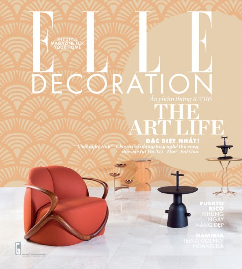 Bìa tạp chí ELLE Decoration số 9