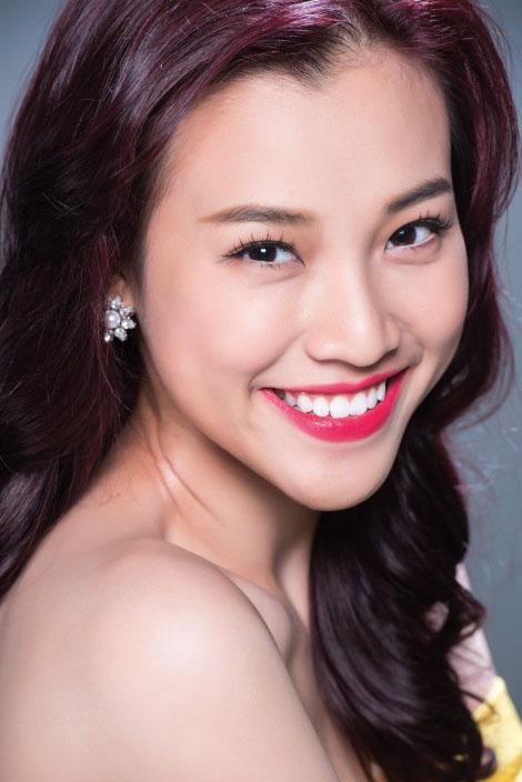 Á hậu Hoàng Oanh: