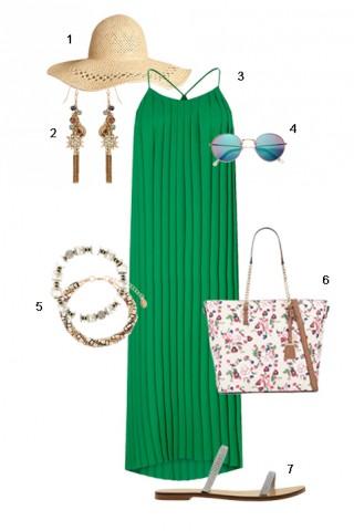 ELLE Style Calendar: Váy xếp ly (22/08 – 28/08)