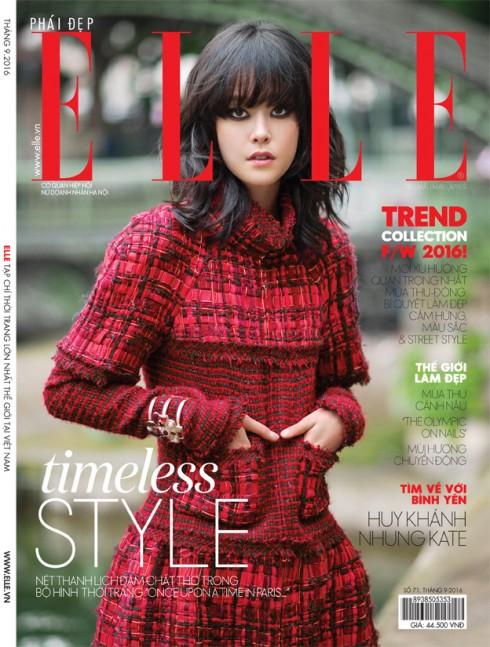ELLE tháng 08 /2016 – Timeless Style