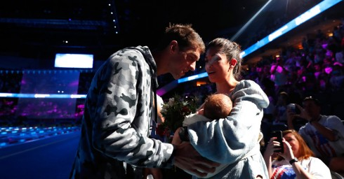 Micheal Phelps and his sweet moment 2