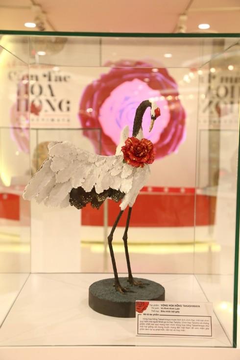 """Kết quả cuộc thi """"Cảm Tác Hoa Hồng Takashimaya"""" - giải 1"""