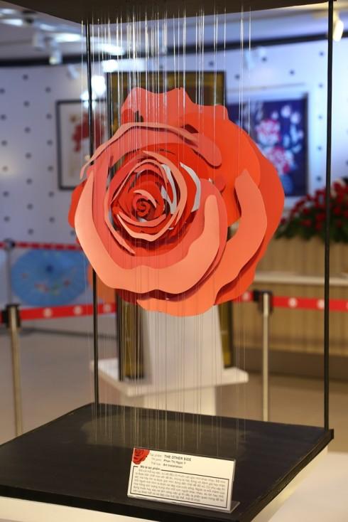 """Kết quả cuộc thi """"Cảm Tác Hoa Hồng Takashimaya"""" - giải 3"""