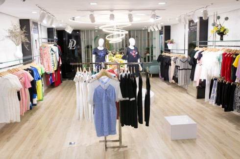 Delight Flagship Store là nơi ra mắt và trưng bày những mẫu thiết kế ấn tượng