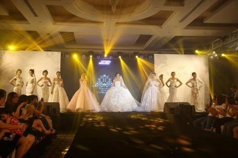 Màn trình diễn áo cưới đến từ các thương hiệu hàng đầu.