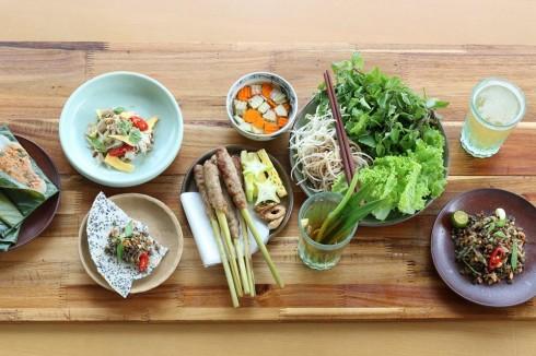 """Những món ăn truyền thống và nổi tiếng của xứ Huế  như bánh đa xúc hến, nem lụi, nộm vả cùng nhiều món ngon khác  sẽ xuất hiện trong """"Hương vị Huế"""""""