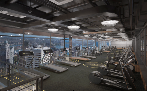 Level Fitness - Dự án Tràng An Complex (nguồn: http://trangancomplex.com.vn)