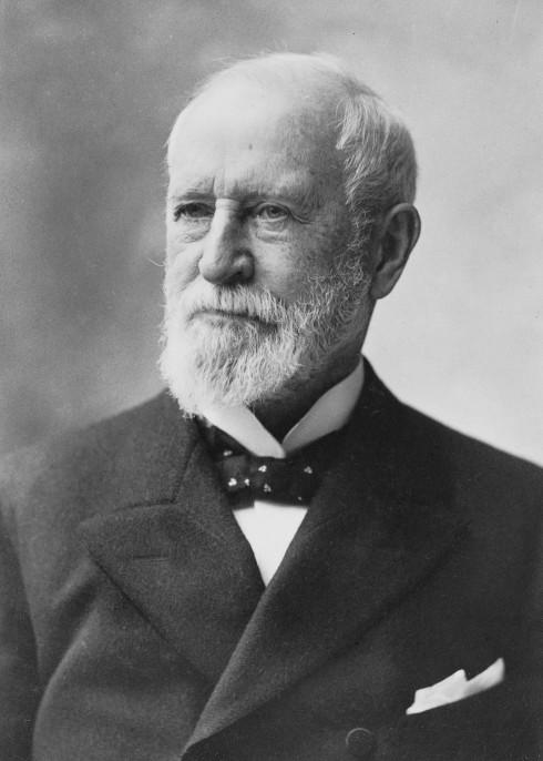 Charles Tiffany - người khởi đầu thương hiệu trang sức nổi tiếng.