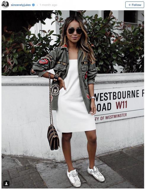 7 mẫu trang phục đẹp tung hoành cộng đồng Instagram - elle vn 3