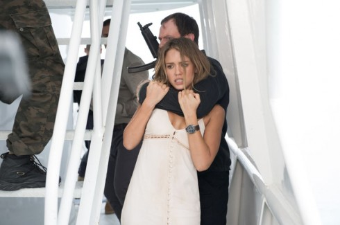 siêu sao hành động Jason Statham, nữ diễn viên nóng bỏng của Hollywood Jessica Alba