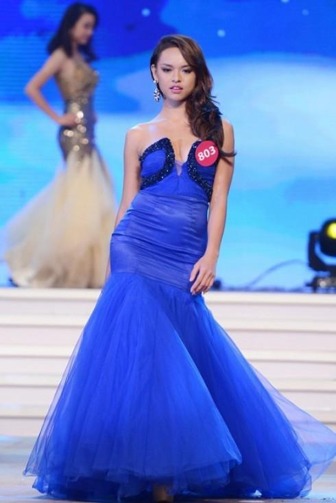 Quỳnh Mai tại cuộc thi HHHV Việt Nam 2015