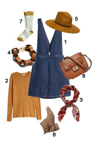 ELLE Style Calendar: Overall Dress (05/09 – 11/09)