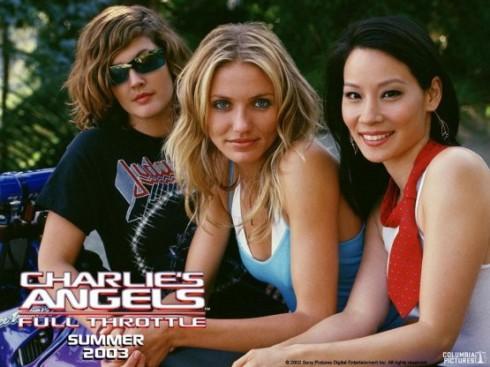 Cameron Diaz làm điệp viên trong Charlie's  Angels.