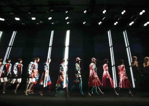 Gucci trình diễn BST thời trang Thu - Đông tại Milan