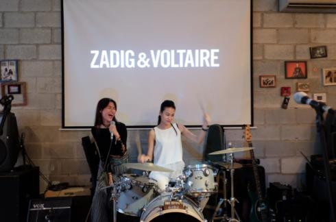 Rock hết mình cùng cơn sốt Zadig Voltaire