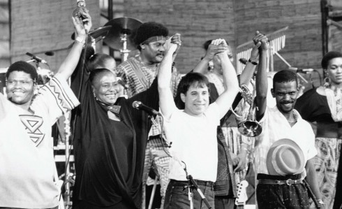 Buổi hòa nhạc của Paul Simon và các nghệ sĩ da màu