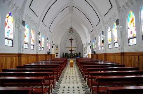 Du lịch Sapa - Bên trong một nhà thờ tại Sapa
