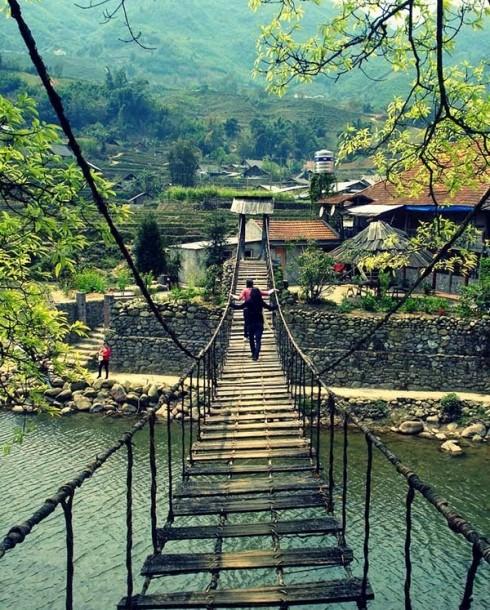 Du lịch Sapa - Cầu Mây