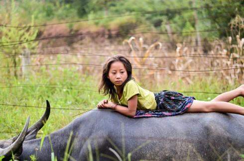 Du lịch Sapa - hình ảnh một bé gái tại Sapa
