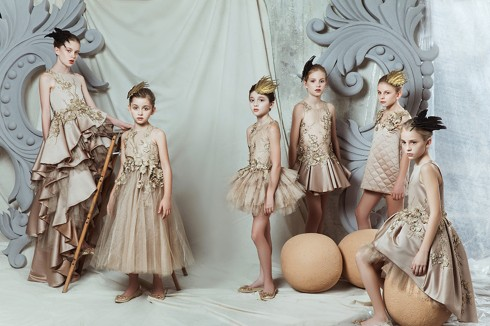 Mischka Aoki - Bộ cánh thiên thần của các bé gái