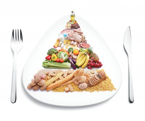 Một chế độ dinh dưỡng lành mạnh và cân bằng khi hội đủ tinh bột, chất đạm, chất béo và chất xơ theo tỉ lệ phù hợp trong mỗi bữa ăn.