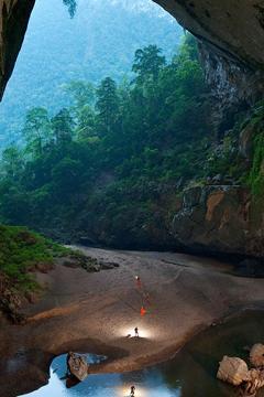 Du lịch Hang Én bằng hình thức trekking