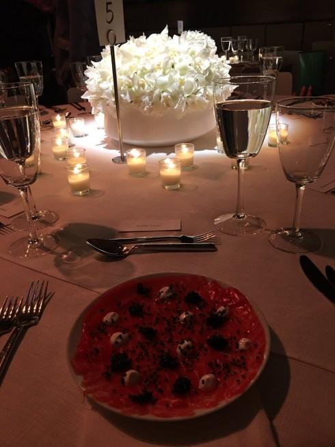 The Major Food Group đảm nhận phụ vụ đồ ăn cho show diễn của Tom Ford