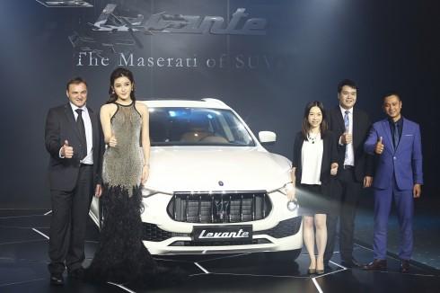 MASERATI chính thức giới thiệu dòng xe SUV đầu tiên LEVANTE tại thị trường Việt Nam