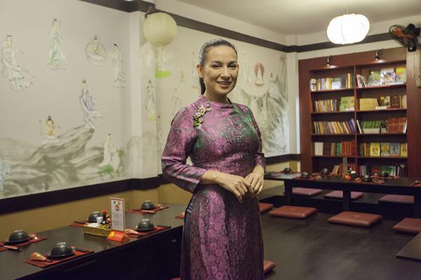 sao Việt ăn chay và theo đạo Phật Elle Vn