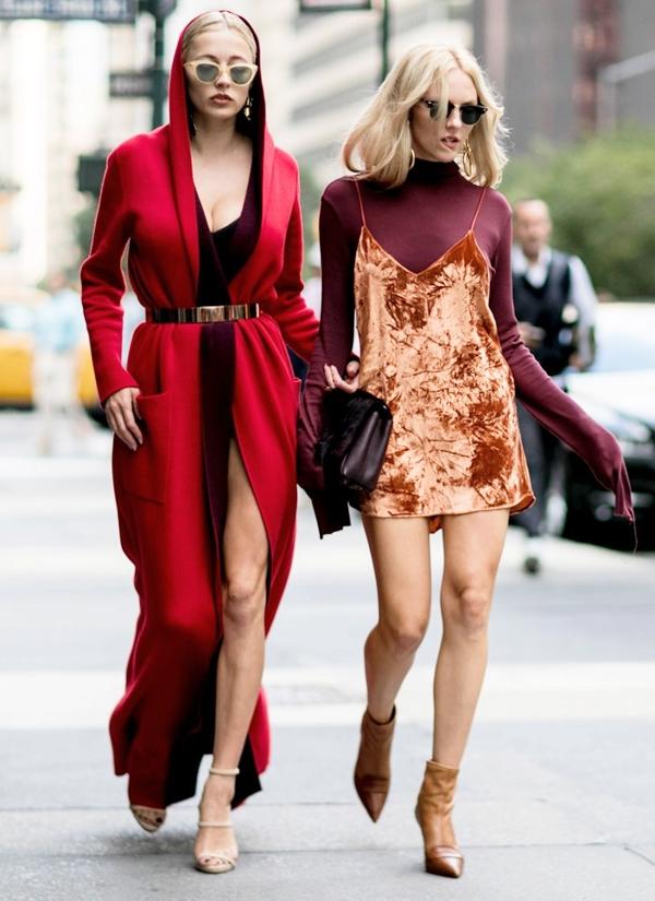 4 street style kiểu cách thời trang Xuân-Hè 2017 tại NYFW