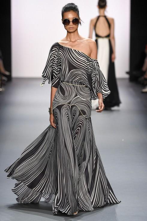 Váy dạ hội lệch vai từ Jenny Packham