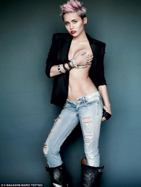 Tình yêu là món quà kì diệu đến với Miley Cyrus ELLE VN