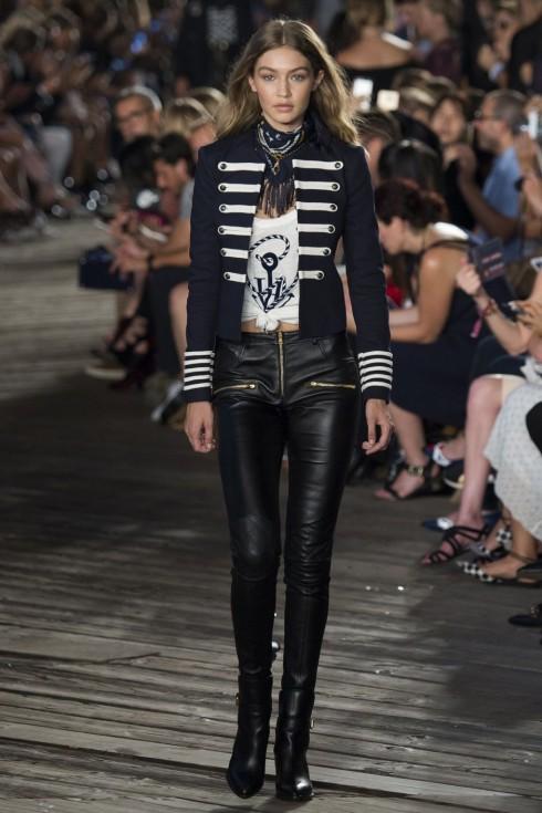 Gigi Hadid sẽ góp mặt trên sàn catwalk của thương hiệu Tommy Hilfiger.