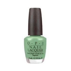 O.P.I mint green