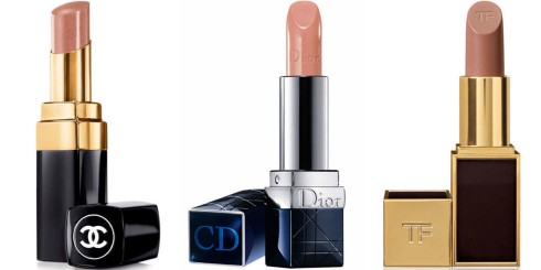 Son nude Chanel - Dior - Tom Ford