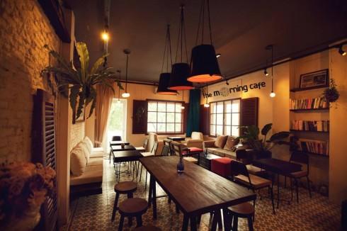 quán cà phê chung cư The Morning Cafe