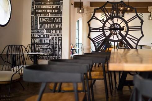 quán cà phê chung cư Loft