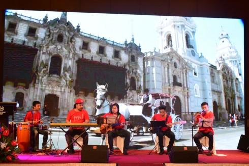 Âm nhạc truyền thống Peru sẽ được trình diễn trong khuôn khổ tuần lễ văn hóa ẩm thực từ 22