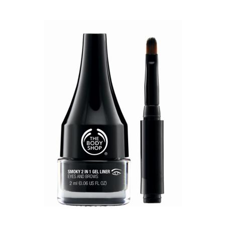 The Body Shop Smoky 2 in 1 Gel Liner