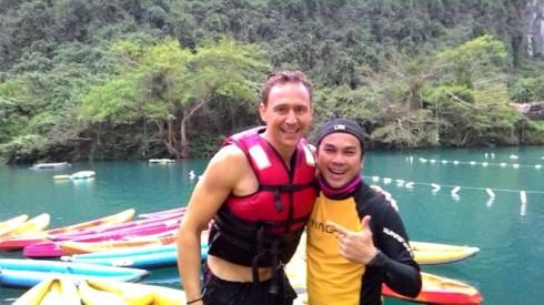 Tom Hiddleston đến Việt Nam
