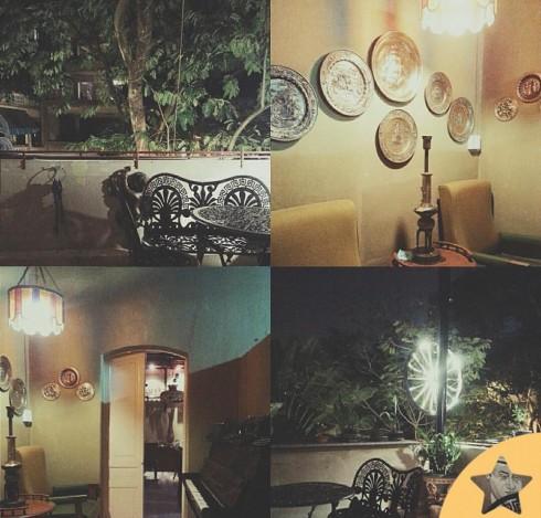 Cà phê Hà Nội Antique Cafe.
