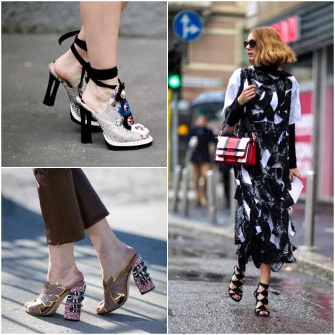 Phong cách thời trang giày hở ngón - ELLE VN