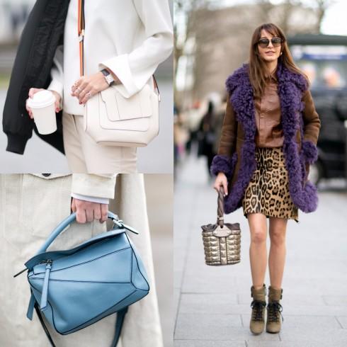 Phong cách thời trang túi đa hình dáng - ELLE VN