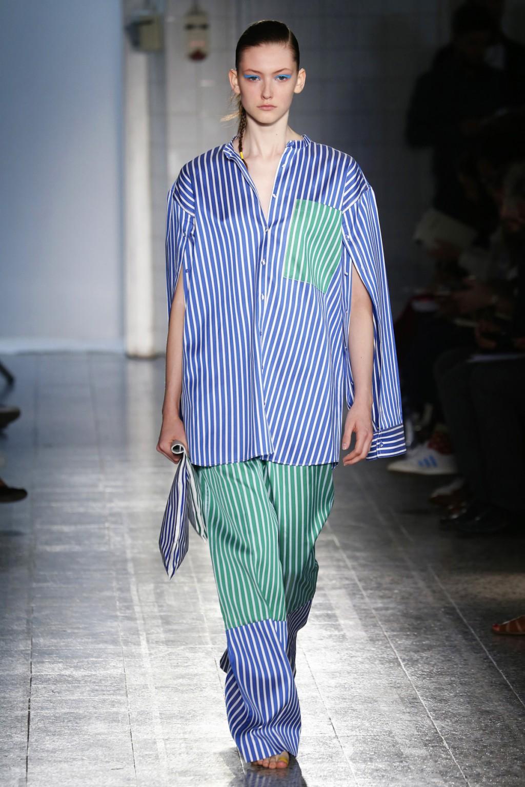 Xu hướng thời trang kẻ sọc trong những bộ đồ cảm hứng từ Pyjama của Ports 1961