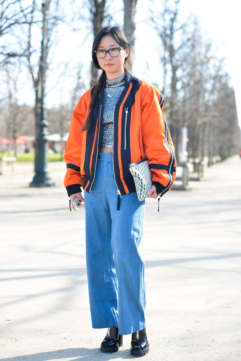 Day 3 - Street Style - Paris Fashion Week - Womenswear Fall/Winter 2015/2016
