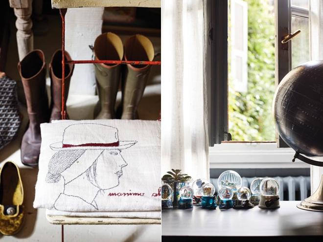 Không gian nội thất của NTK thời trang Massimo Alba