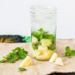 10 loại nước uống giảm cân chỉ với một nguyên liệu