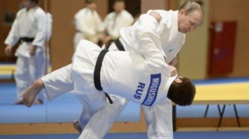 Tài năng võ thuật của Putin