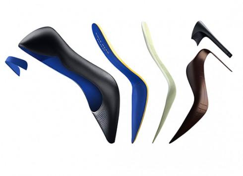 Tách lớp từng phần đôi giày cao gót Cole Haan Grandrevølution